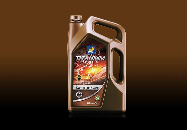 J-One-Titanium-Diesel น้ำมันหล่อลื่น